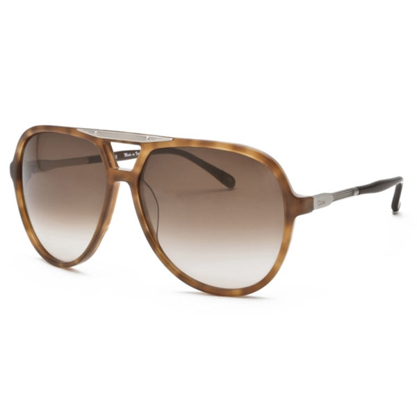 Chloe Women's 'Adonis' Pale Tortoise Shell Fashion Sunglasses