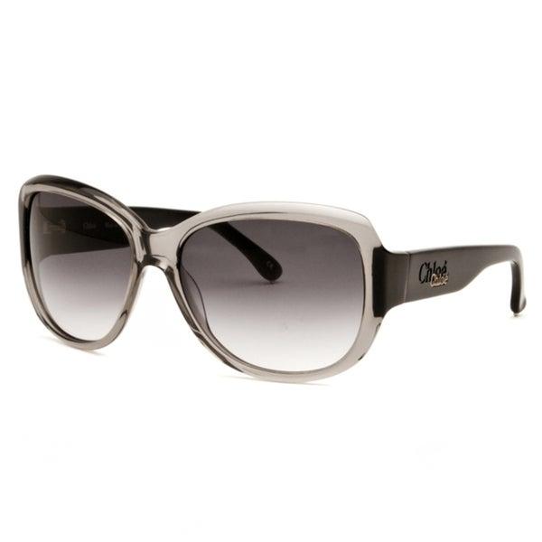 Chloe Women's Transparent Black Fashion Sunglasses