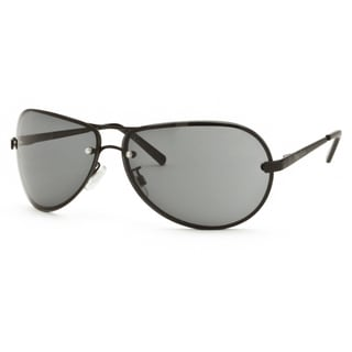 Perry Ellis Unisex 020-2-BLACK-68-13 Aviator Sunglasses