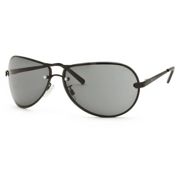 Perry Ellis Unisex 020-2-BLACK-68-13 Aviator Sunglasses