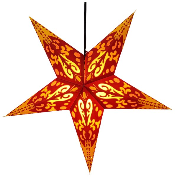 Verity Star Recycled Paper Lamp (India)