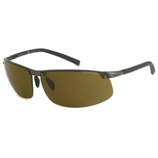 Nike Men's Forge Rimless Pro Wrap Sunglasses