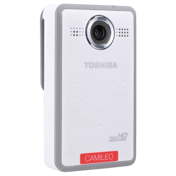 "Toshiba Camileo Clip Digital Camcorder - 1.5"" LCD - CMOS - Full HD -"