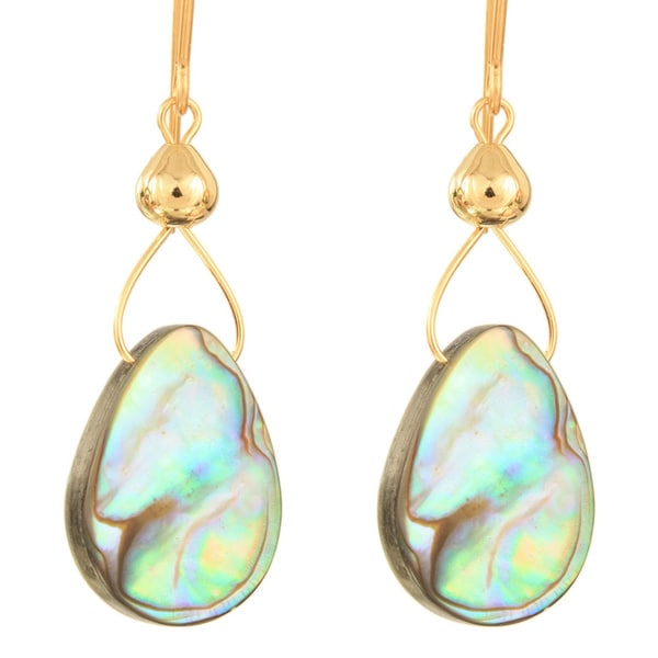 Drops of Abalone Earrings