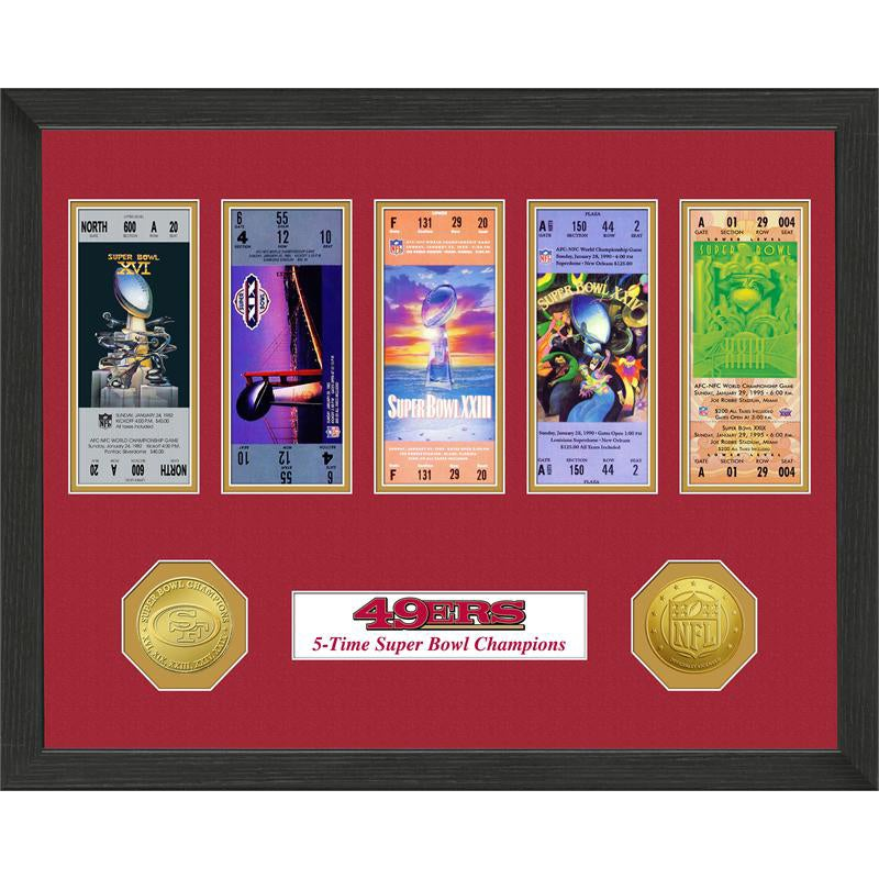 San Francisco 49ers NFL SB Ticket/Game Coin Frame at Sears.com