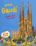 Antoni Gaudi Create Your Own City: Sticker Book (Paperback)