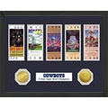 Dallas Cowboys NFL SB Ticket/Game Coin Frame