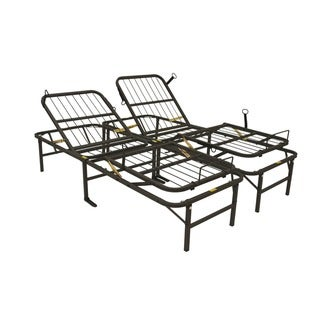 Pragma Simple Adjust Head and Foot King-size Bed Frame