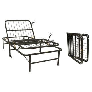 Pragma Simple Adjust Twin XL Steel Bed Frame