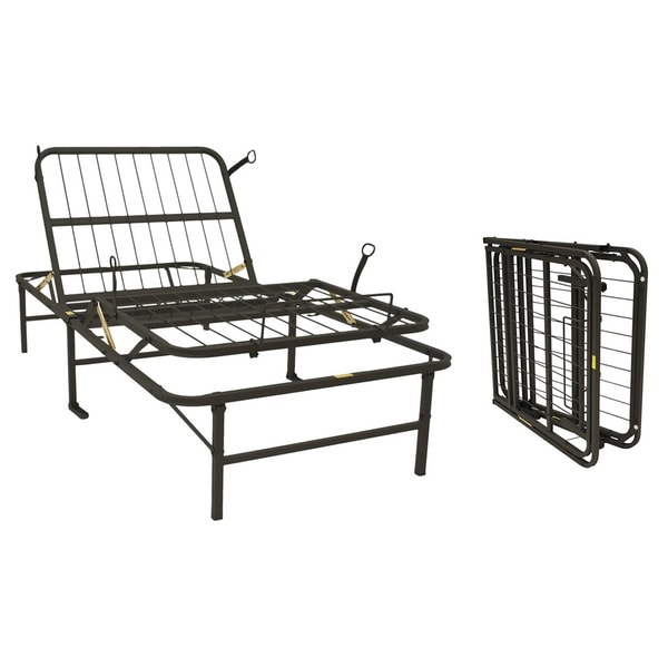 Pragma Simple Adjust Twin Steel Bed Frame