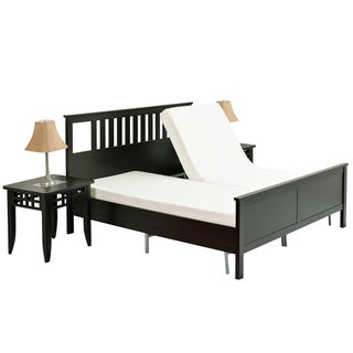 Pragma Simple Head Adjust Queen Steel Bed Frame