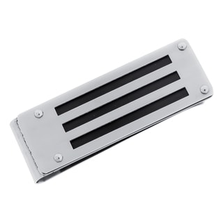 Men's Stainless Steel Black Plating Money Clip