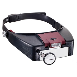 Illuminated Multipower LED Binohead Magnifier