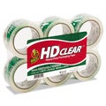 Clear Duck Heavy-Duty Carton Packaging Tape- 1.88 x 55