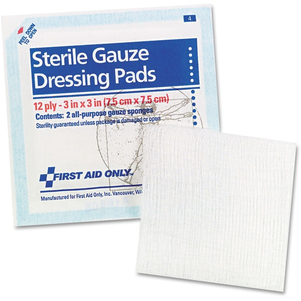 First Aid Only Gauze Pads (5-pack)