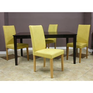 Warehouse of Tiffany Shino Mustard 5-piece Dining Table and Chairs Set