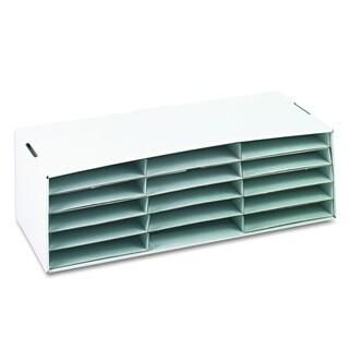 Pacon Corrugated Paper Sorter/Storage Box- 15