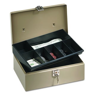 PM Company Securit Lock?n Latch Steel Cash Box