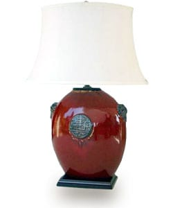 Red Moon Flask Lamp (China)