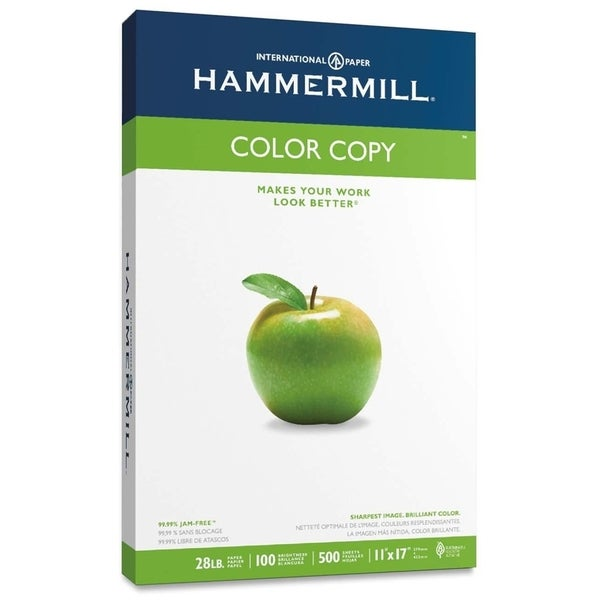 Hammermill Color Copy/Laser Paper Photo White