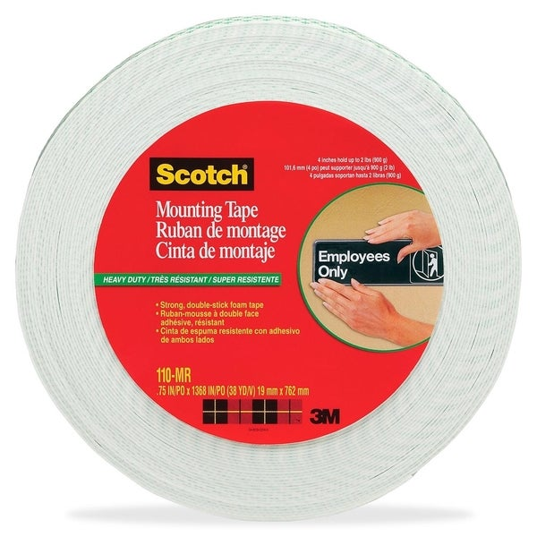 3M Foam Mounting Tape 3/4 1368 Long