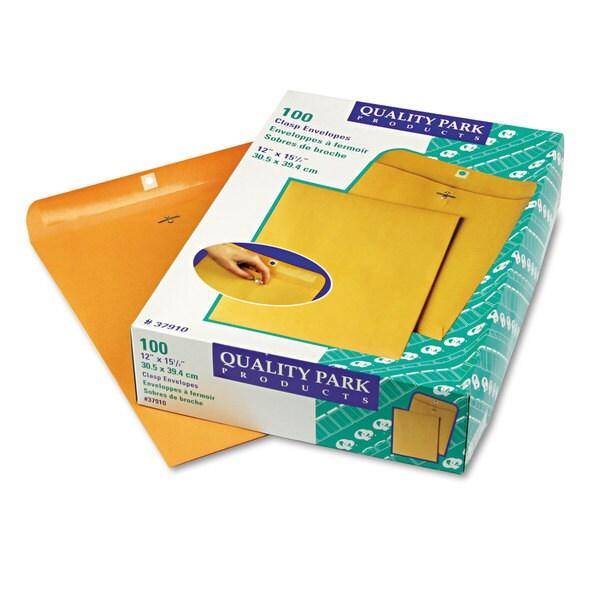 Quality Park Clasp Envelope 12 x 15 1/2 28lb