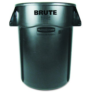 Rubbermaid Brute Vented Trash Receptacle Round