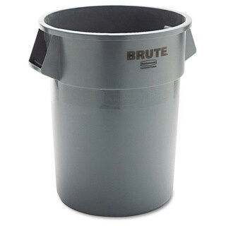 Rubbermaid Grey Round Brute Container