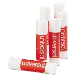Universal Permanent Glue Stick .28-ounce Sticks (Pack of 5)