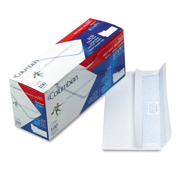 Mead Westvaco Self-Seal White Business Envelopes (Pack of 2)