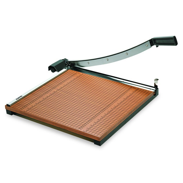 X-ACTO Wood Base Guillotine Trimmer- 15 Sheets-