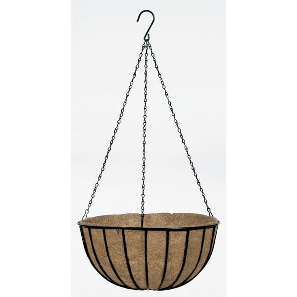 Gardman Traditional Wit Black 14-inch Hanging Basket