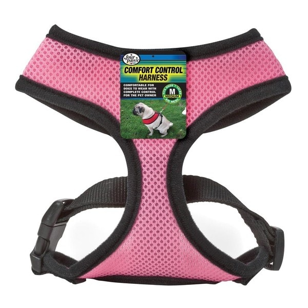 Pink Medium Comfort Control Harness