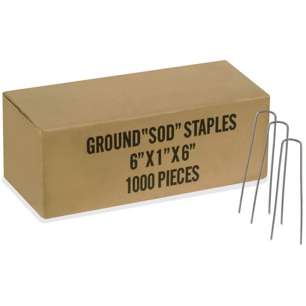 Easy Gardener 817 Bulk Fabric Staples (Pack of 1000)