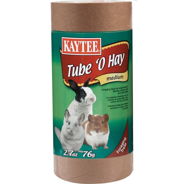 Kaytee Products Inc. 2.7-ounce Tube 'O Hay