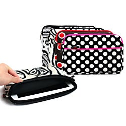 Kroo 9-inch Tablet Ipad Carrying Case with Storage Pocket