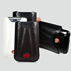 Kroo iPhone 4 and 4S Napa Leather Carrying Pouch