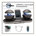 Speakal Icrystal iPod Docking Station System with Accessory Kit