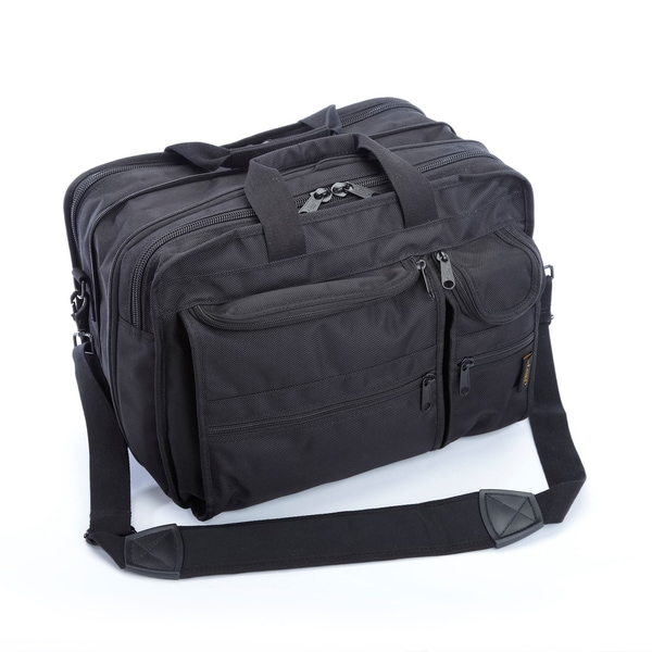 A.Saks Expandable Multi-pocket Organizer Brief