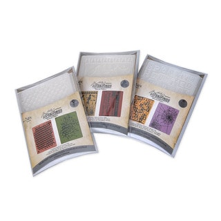 Sizzix Textured Impressions 'Fright Night' Halloween 6 PK Value Pack