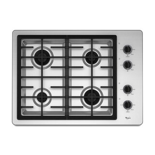 Whirlpool 'W5CG3024XS' 30-inch 4-burner Sealed Gas Cooktop