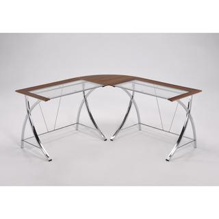 Spacious Natural Brown 5-foot Office Desk