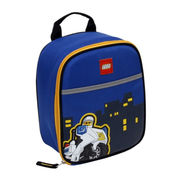 LEGO Police City Nights Vertical Lunch Bag