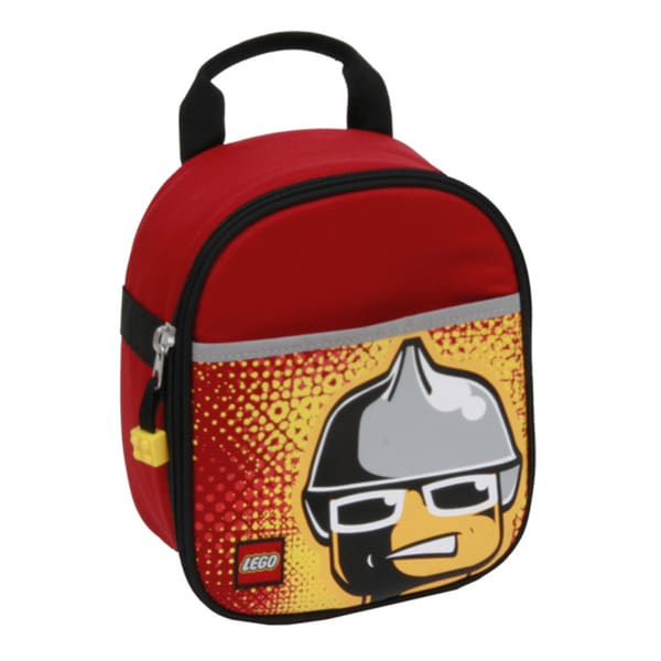LEGO Fire Minifigure Vertical Lunch Bag