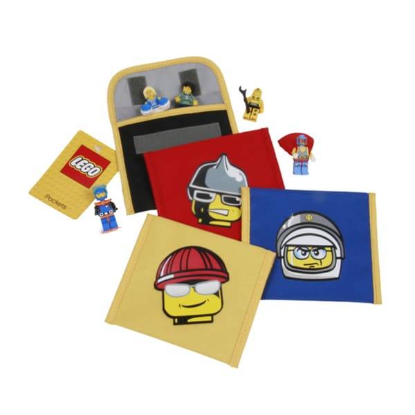 LEGO Minifigure 4-piece Pocket Set