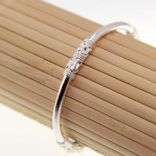 Miao Silver Engraving Bangle (China)