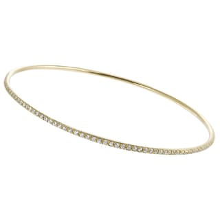 Tressa Collection Goldplated Sterling Silver Cubic Zirconia Bracelet