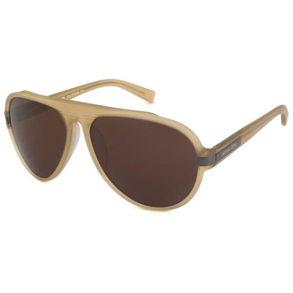 Michael Kors Men's MKS251M Noah Aviator Sunglasses