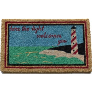 Light House Multi Coir Door Mat (2'6 x 1'6)
