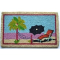 Beach Multi Coir Door Mat (2'6 x 1'6)